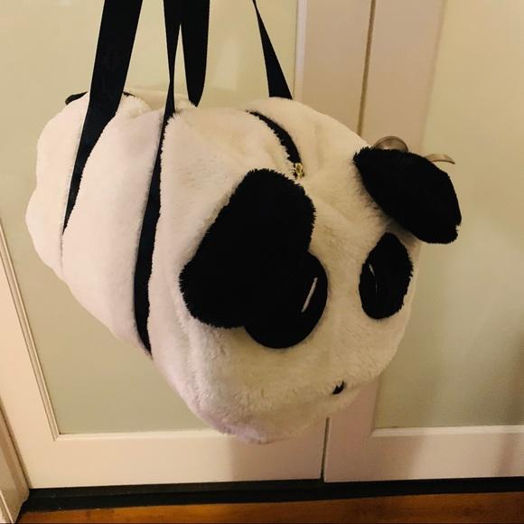 Betsey Johnson Handbags - Luv Betsey by Betsey Johnson Panda Weekender